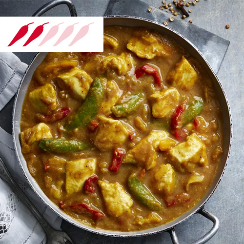Chinese-style chicken curry in metal pot-slimming world curry recipes