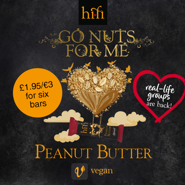 Slimming World peanut butter hi-fi bars