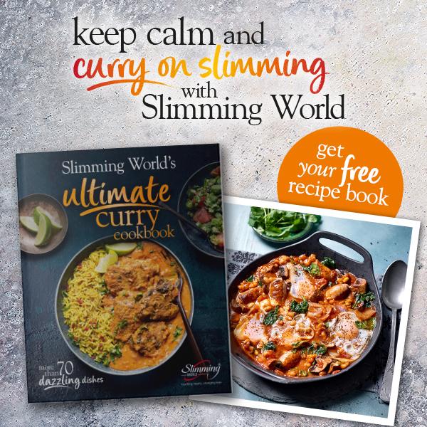 Ultimate curry cookbook header-Slimming World recipe books